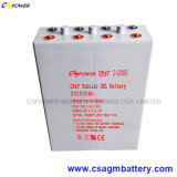 Bateria tubular 2V300ah do gel de Opzv da vida a mais longa