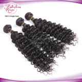 Armure profonde de cheveux humains d'onde de cheveu malaisien en gros
