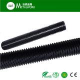 Galvanisiertes schwarzes Gewinde Rod (DIN975 DIN976) Oxid-Grad8.8 Garde-10.9