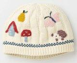 Шлемы зимы теплые различные связанные для милого Newborn младенца