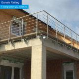 Innen- und im FreienBaclony Geländer für Edelstahl Handrial