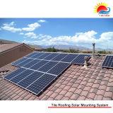 アルミニウムによって陽極酸化されるプロフィールの太陽屋根の土台システム(NM0039)