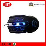 USB Laser LED com fio Computador Mini Mouse Óptico