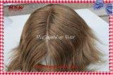 ヘッドライナーのニューヨークのレースの顧客用人の毛の置換