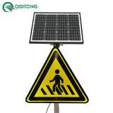 Segno di traffico stradale luminoso attivo alimentato solare del LED