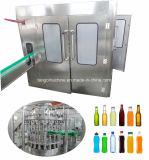 Plombe der Glasflaschen-750ml, bedeckend, beschriftenabfüllende Zeile für Spiritus-Bier-Wein mit einer Kappe