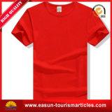 Personalizzare la maglietta degli uomini del collo di marchio V con il materiale del cotone