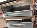 3 couches 9 de plateaux de pain commercial de gâteau de four électrique de paquet