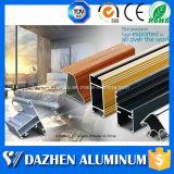 Profils d'extrusion personnalisés la meilleure par qualité d'alliage d'aluminium de porte de guichet avec l'enduit de poudre