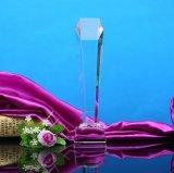 Mestiere del trofeo di cristallo per il regalo di natale