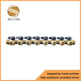 Múltiple de la calefacción de suelo con la cuerda de rosca masculina para la venta