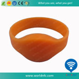 Braceletes de borracha reciclado de borracha de silicone natural NFC Hot Wristbands
