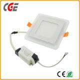 Color doble del LED que cambia la luz del panel cuadrada del LED con Ce y RoHS