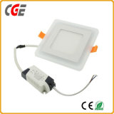중단되는 둥글거나 정연한 두 배 색깔 (12+4) W LED 가벼운 위원회 램프 LED 천장 빛
