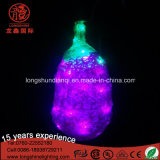 LED pendentif en forme de coeur Pendentif rouge Christams Light for Holiday Wedding Decoration