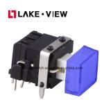 LED-Drucktastenschalter mit der kundenspezifischen Schutzkappen-Größe erhältlich