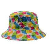 カスタム花ポリエステル方法夏の屋外の採取のSunhatのバケツの帽子