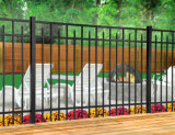 눌러진 점 말뚝 정원 담 교체를 가진 기본적인 자유로운 정비 편평 정점