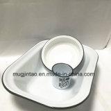 [كيتشنور] مينا فنجان مينا طبق مسطّح أداة مائدة محدّد طبق لوحة مينا إبريق