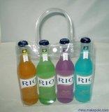 Bolsa de PVC transparente para estilo novo e ecológico para vinho e bebidas Embalagem