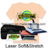 Ferro-no papel de transferência térmica da luz do Inkjet A4 para a roupa