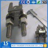 1102 выковал зажим веревочки провода нержавеющей стали