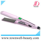 Ferro liso do cabelo largo profissional quente da placa do Sell com função impermeável