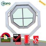 Toldo vitrificado dobro padrão Windows do perfil de Austrália UPVC