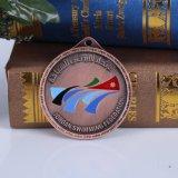 De antieke Medaille van de Herinnering van het Afgietsel van de Matrijs van het Brons Geplateerde