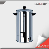 Urna de café grande caliente usada en hogar
