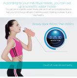 Tazza astuta del regalo della bevanda di temperatura dell'acqua di sanità sana record di richiesta