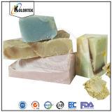 石鹸作成の自然な着色剤