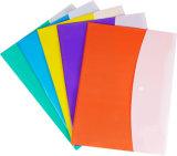 Nouveau produit de la Papeterie charmant de fournitures de bureau couleur double sac de fichier