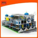 Großes Kugel-Vertiefung-Innenschloss-Thema-weicher Spielwaren-Spielplatz für Kinder