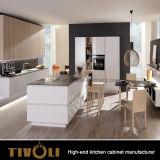 建物の台所は白い食器棚Tivo-0062Vを設計する