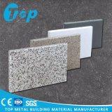 PVDFのコーティングの外壁の正面のためのアルミニウム固体壁パネル