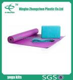Insieme popolare caldo di yoga della cinghia della sfera del blocchetto della stuoia di yoga