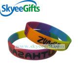 Braccialetti più poco costosi della gomma di silicone del Wristband all'ingrosso