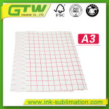 Papier de transfert thermique léger de T-shirt de qualité pour le tissu 100% de coton