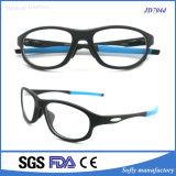 Quadro de óculos ópticos Tr90 com moda quente com templo substituível