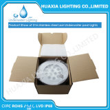 Lámpara impermeable ligera subacuática ahuecada LED impermeable del color de 12V 36W RGB