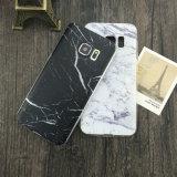 Caisse chaude de téléphone de type de marbre de vente pour le bord de la galaxie S7 de Samsung