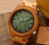 La moda del cuarzo del movimiento de madera Fs452