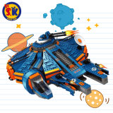 Weltraum-Plastik blockt Spielzeug für Kinder