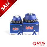 Щетка щетки чашки стального провода гайки высокого качества M14*2 меля для промышленной извлекая ржавчины машины