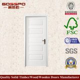 White Paint Mahogany MDF Venner Panel Door (GSP8-037)
