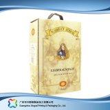 Caixa de embalagem de empacotamento do vinho do café do presente do papel ondulado (xc-hba-002)