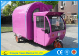 Carro del perrito caliente del carro del alimento de la bici de Ys-Et175D
