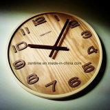 Horloge de mur en gros ronde décorative de bonne qualité