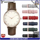 De Hete Manier van yxl-580 2016 het Horloge van Backcase van Dame Vouge Wrist Quartz Roestvrij staal